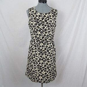 Banana Republic Dresses - Banana Republic Dress Leopard Sleeveless Midi 8